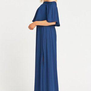 ShowMeYourMumu - Hacienda Dress in Rich Navy Crisp